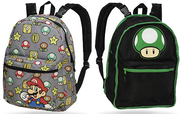 Mario Reversible Backpack is 2 Designs in 1