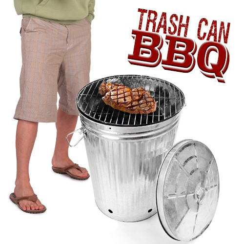 Trash Can Barbecue: Grill Like a Bum