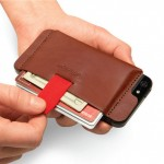 Wally iPhone Wallet Sticks to the Back of your Phone