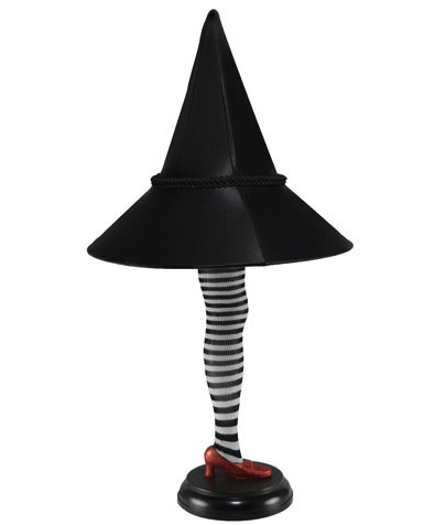 wicked witch of the east lamp Wizard of Oz Wicked Witch of the East Leg Lamp