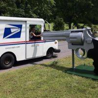 44 magnum mailbox