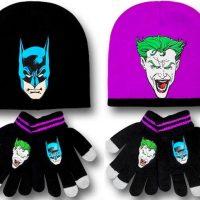batman joker beanie gloves