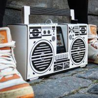 Berlin Boombox is Made of Cardboard