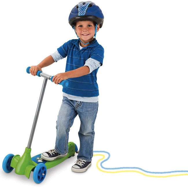 chalk scooter