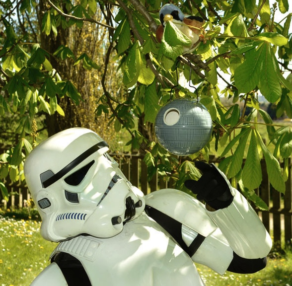 death star birdhouse Death Star Birdhouse
