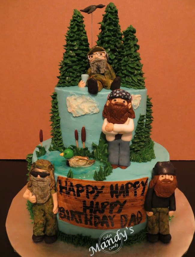 Duck Dynasty Cake Ideas