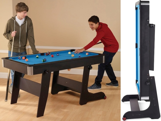 folding pool table Pinboard