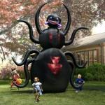Giant Halloween Decoration: 12' Animated Spider