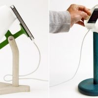 Lamps that Use Your iPhone's Flash as a Light