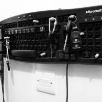 Keyboard Key Hanger