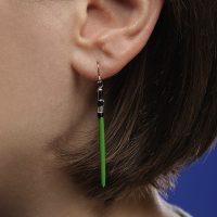 lightsaber earings