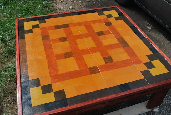 minecraft coffee table Pinboard