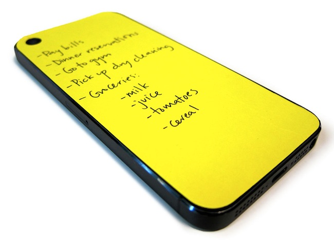Sticky Notes for the Back of your iPhone