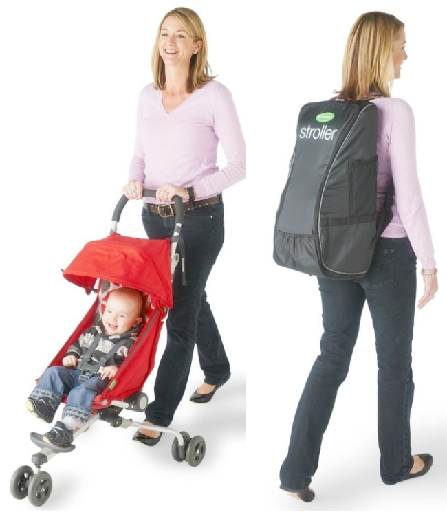 Backpack Stroller is Easy to Take with You