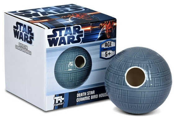 star wars birdhouse Death Star Birdhouse