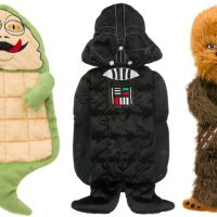 star wars dog squeaky toys