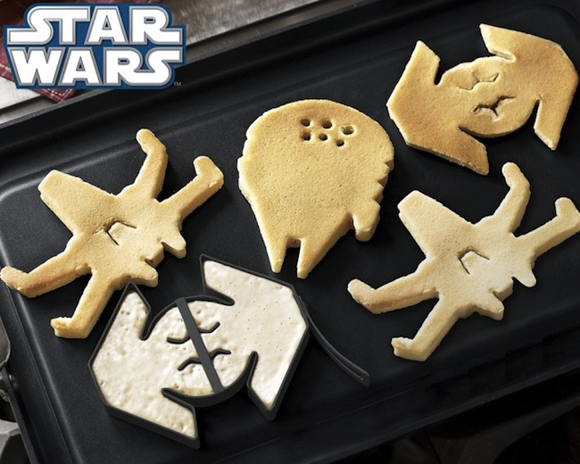 star wars pancake molds Star Wars Pancake Molds