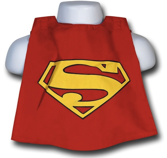 superman bib back