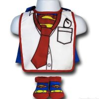 superman clark kent bib
