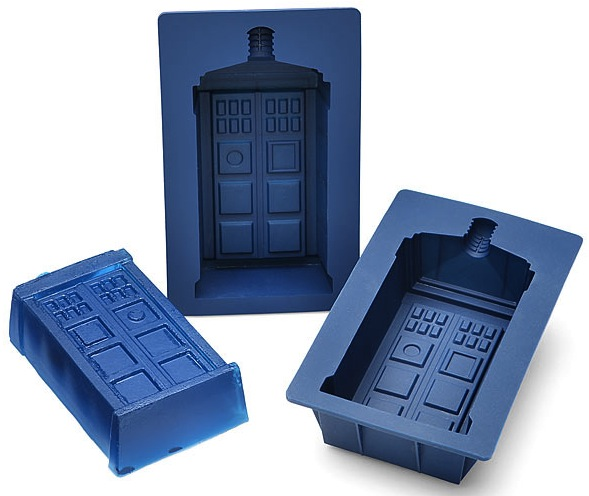 tardis jello mold