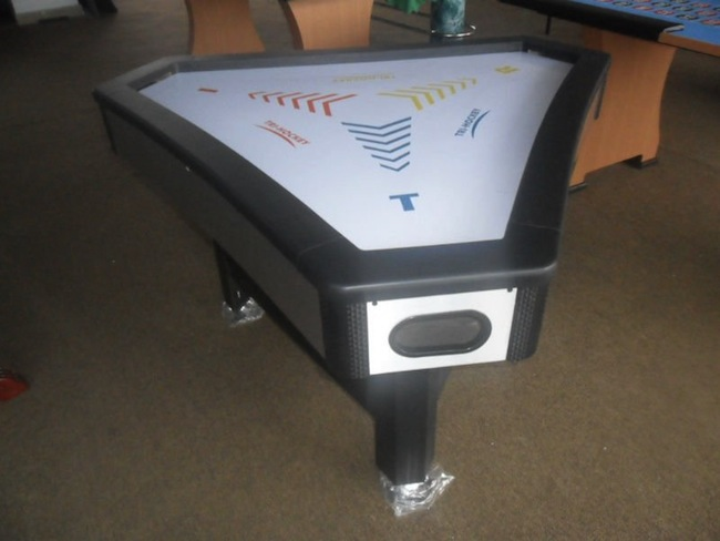 three way air hockey Pinboard