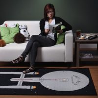 Star Trek Enterprise Rug