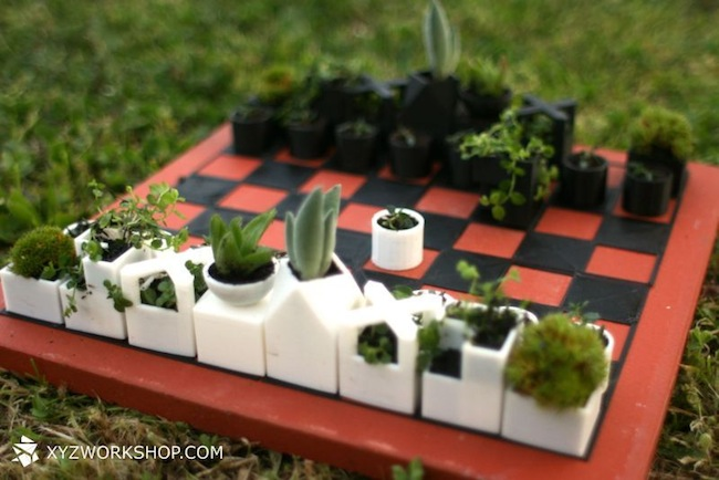 3d printed planter chess set Pinboard