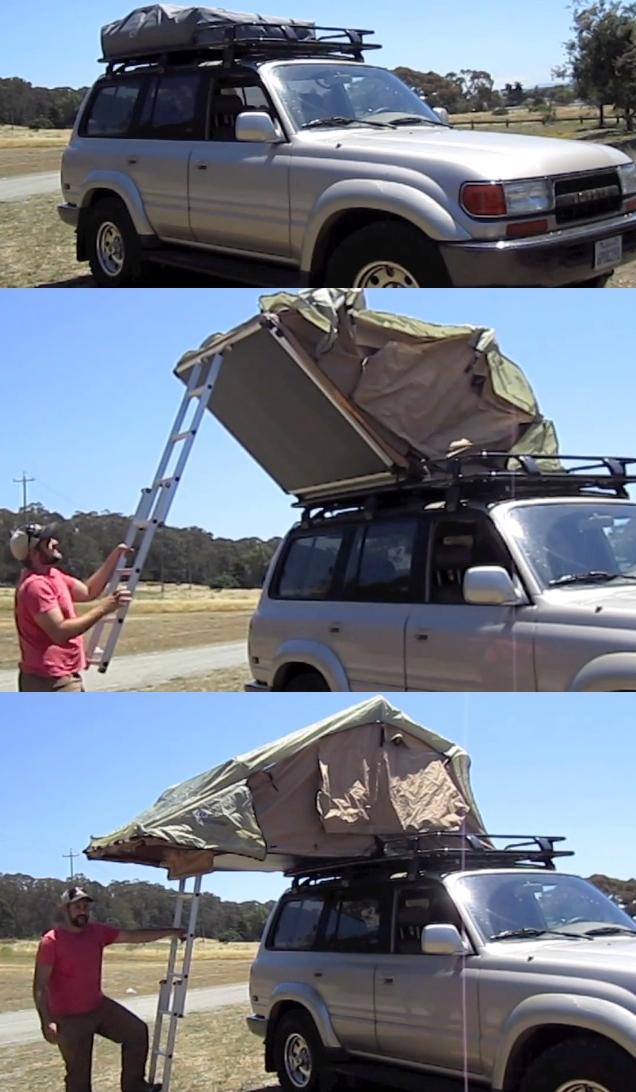 SUV Luggage Rack Tent