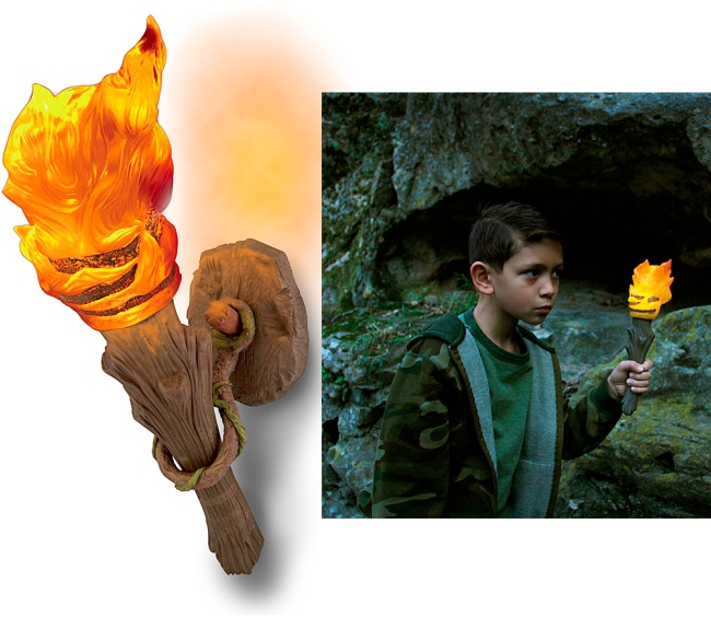 Caveman Torch Wall Sconce -Craziest Gadgets