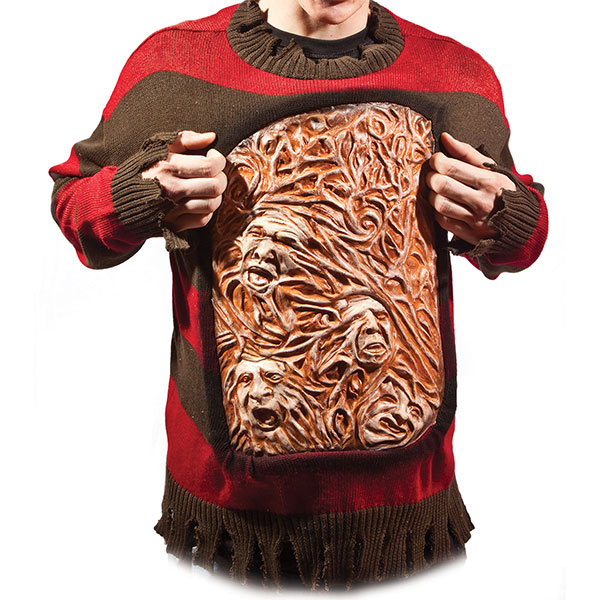 Freddy Krueger Animated Sweater of Horror