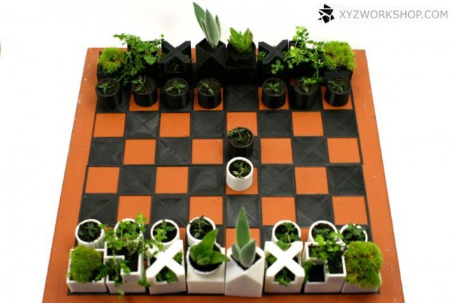 planter chess set