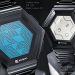 Quasar Hexagonal LCD Watch Design from Tokyoflash