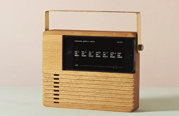 Radio Dock Turns Your iPhone into an Old School Radio
