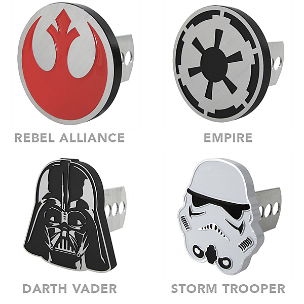 star wars trailer hitch covers
