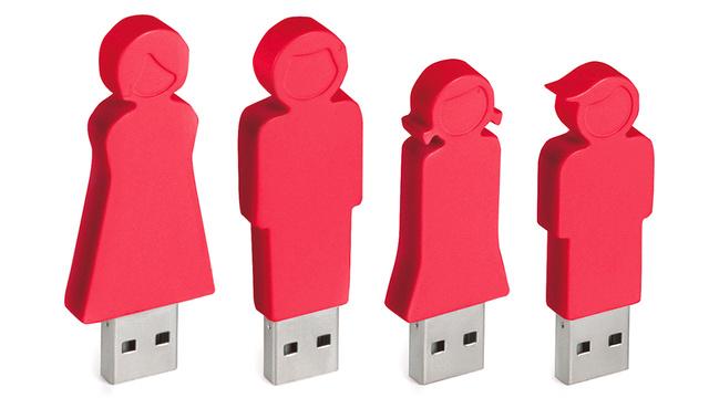 Flash Drive Family Car USB Hub