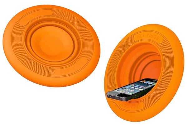 Fli-Tunes: Frisbee and Smartphone Amplifier