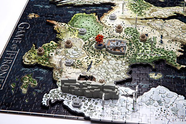 Game of Thrones Map of Westeros 3D Puzzle