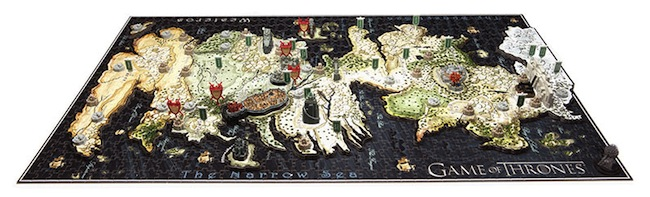 game of thrones westeros puzzle Game of Thrones Map of Westeros 3D Puzzle
