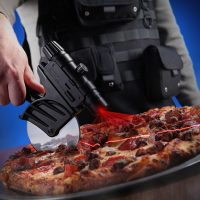 laser guided pizza cutter