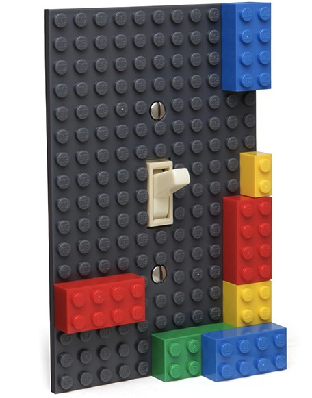 Lego Light Switch Plate