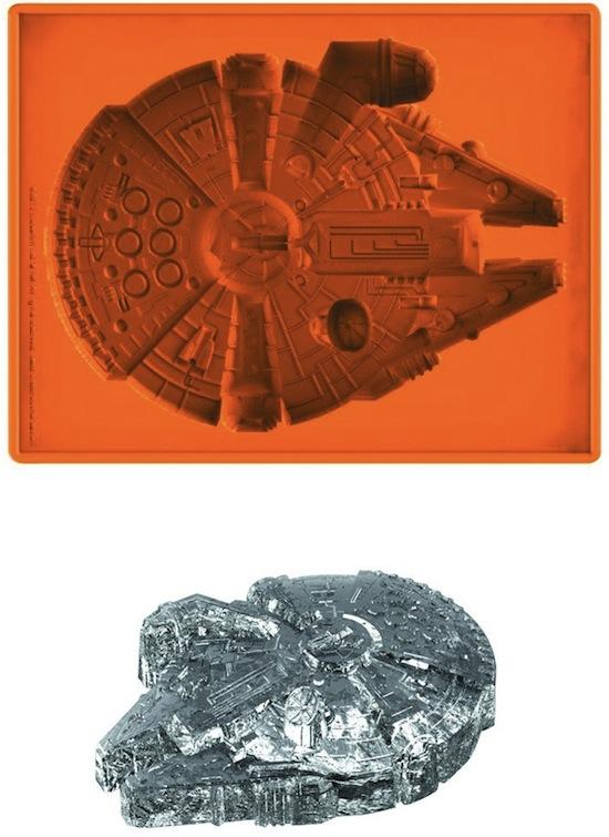 millennium falcon jello tray