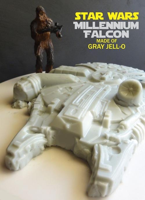 millennium falcon jello