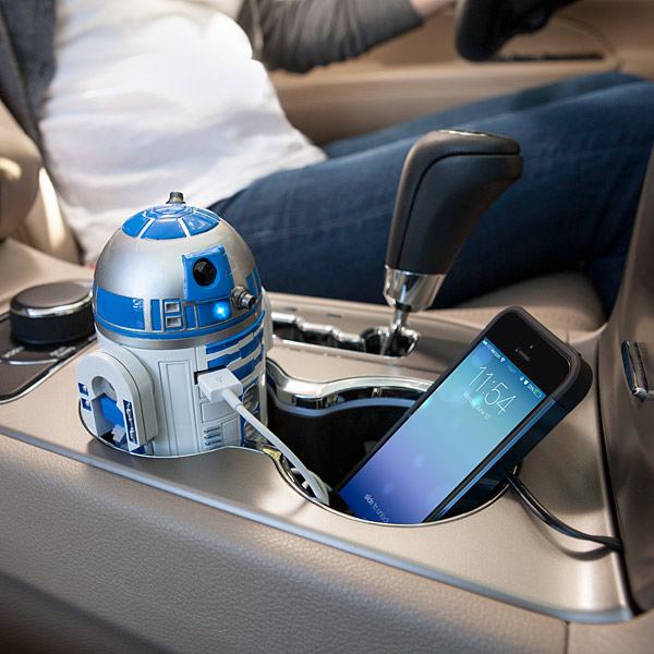 r2d2 car charger R2 D2 USB Car Charger