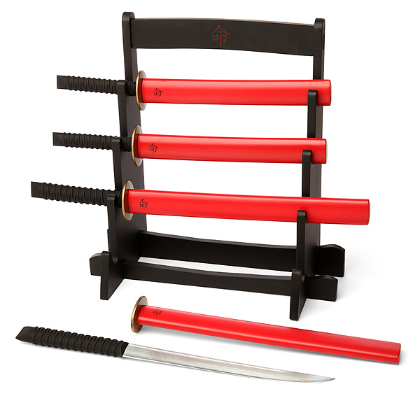Samurai Sword Kitchen Knife Set
