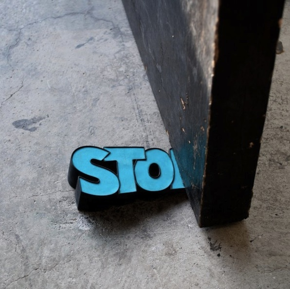 stop doorstop in action Stop Door Stop