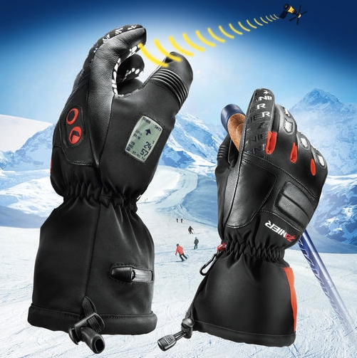 GPS Enabled Ski Gloves