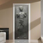 han solo in carbonite door decal