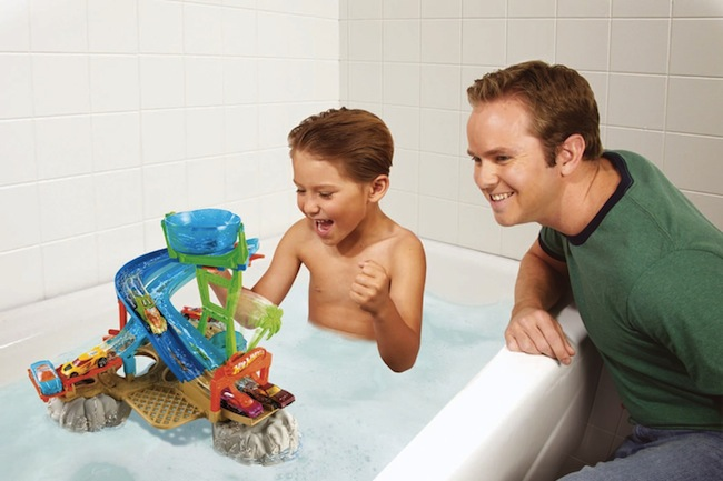 Floating Hot Wheels Bath Playsets