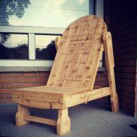 Alderaandack Chair: R2-D2 Adirondack Chair