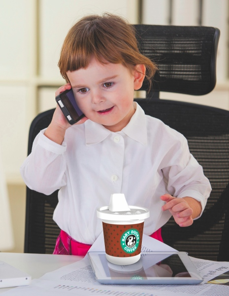 rise and shine sippy cup in use Starbucks like Sippy Cups